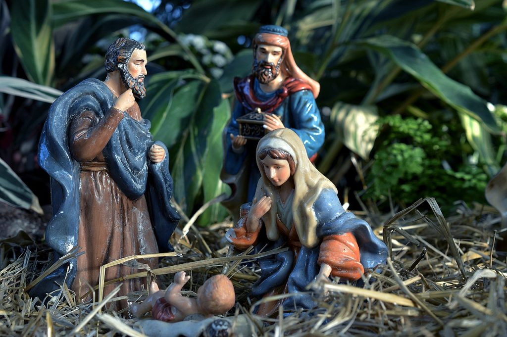 nativity scene - baby jesus
